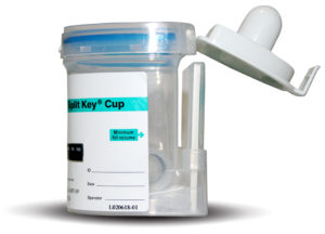 Integrated EZ Split Key Cup Side