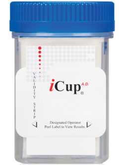 icup 3 panel drug test