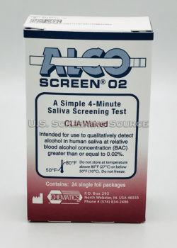 Alcoscreen 02 Box Back