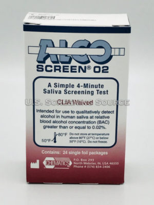 Alcoscreen 02 Box Back
