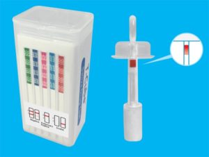 T-Cube 6 Panel Oral Fluid Drug Test W