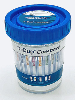 T-Cup 10 Panel Compact Drug Test Cup