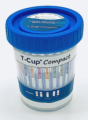 T-Cup 12 Panel Compact Drug Test Cup
