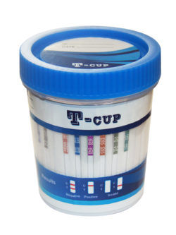 T-Cup 10 Panel Urine Drug Test Kit